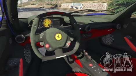 GTA 5 Ferrari LaFerrari 2013 v2.5 hinten rechts