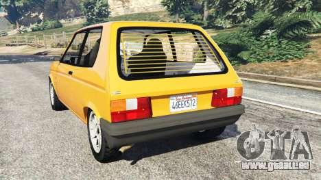 GTA 5 Talbot Samba hinten links Seitenansicht