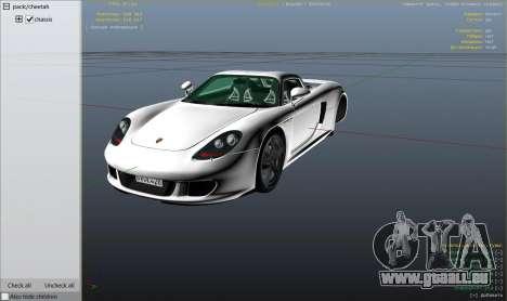 GTA 5 Porsche Carrera GT 1.2 Rad