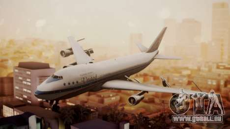 Boeing 747-100 United Airlines Friend Ship pour GTA San Andreas