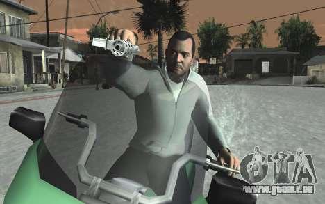 GTA 5 Tec-9 pour GTA San Andreas dixième écran