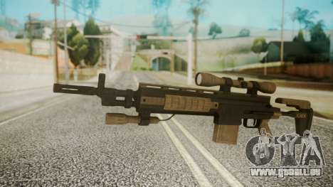 Sniper Rifle from RE6 pour GTA San Andreas
