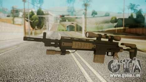 Sniper Rifle from RE6 für GTA San Andreas