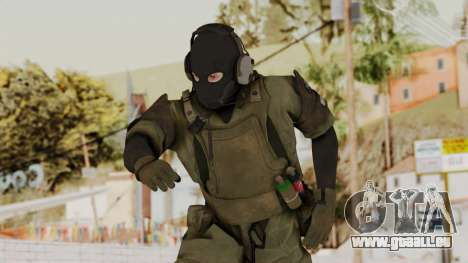 MGSV Ground Zero MSF Soldier pour GTA San Andreas