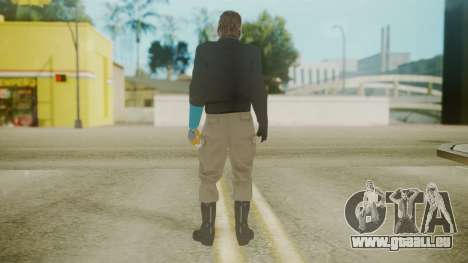Venom Snake [Jacket] Hand of Jehuty Arm für GTA San Andreas dritten Screenshot