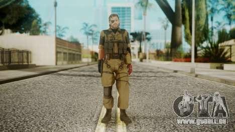 Venom Snake Olive Drab pour GTA San Andreas deuxième écran