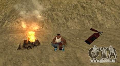 Le feu pour GTA San Andreas deuxième écran