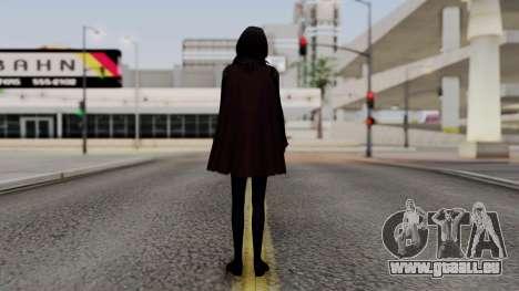 Final Fantasy Type 0 - Rem Tokomiya für GTA San Andreas dritten Screenshot