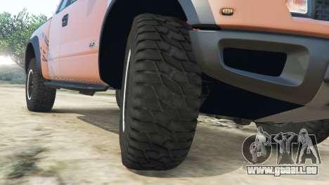 Ford F-150 SVT Raptor 2012 v2.0 für GTA 5
