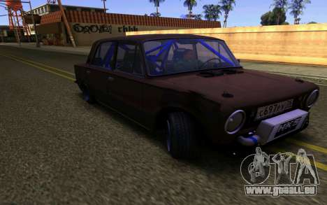 VAZ 2101 Voiture pour GTA San Andreas laissé vue