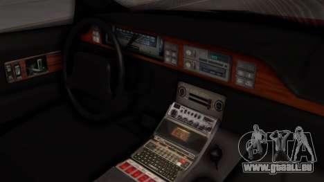 Chevy Caprice Station Wagon 1993-1996 SACFD pour GTA San Andreas vue de droite
