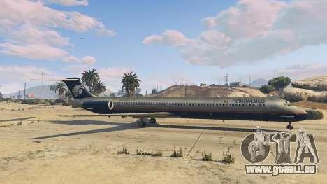 GTA 5 McDonnell Douglas MD-80 sixième capture d'écran