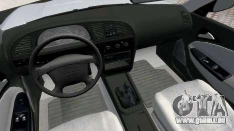 Daewoo Nubira II Sedan S PL 2000 pour GTA 4 Vue arrière