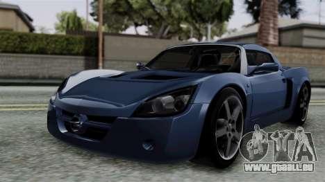 Opel Speedster Turbo 2004 Stock pour GTA San Andreas
