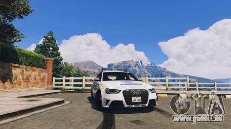 Audi RS4 Avant Hungarian Police pour GTA 5