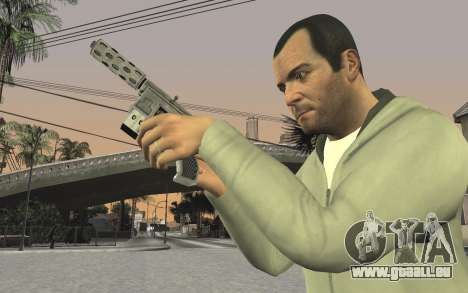 GTA 5 Tec-9 pour GTA San Andreas huitième écran
