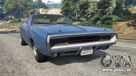 Dodge Charger RT 1970 v3.0 pour GTA 5