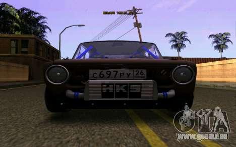 VAZ 2101 Voiture pour GTA San Andreas vue de droite