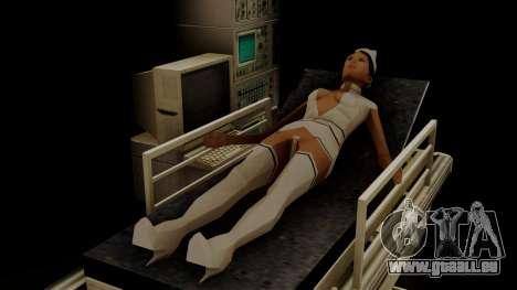 GTA 5 Brute Ambulance für GTA San Andreas rechten Ansicht