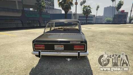 GTA 5 VAZ 2103 vue arrière