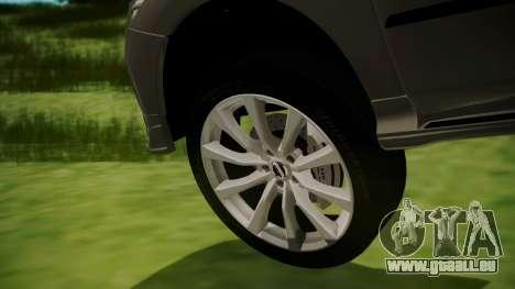 Nissan Patrol IMPUL 2014 pour GTA San Andreas sur la vue arrière gauche
