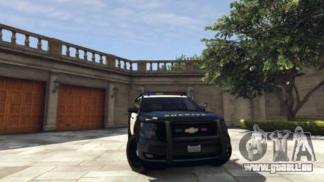 Chevrolet Suburban Sheriff 2015 für GTA 5