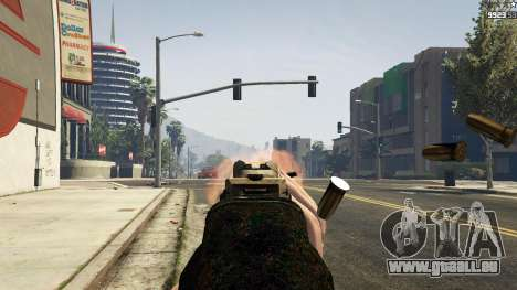 GTA 5 MW3 MP5 achten Screenshot