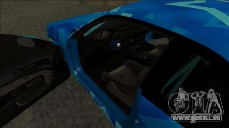 Nissan Silvia S14 Drift Blue Star für GTA San Andreas rechten Ansicht