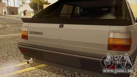 Renault 11 Perfil Bajo pour GTA San Andreas vue arrière