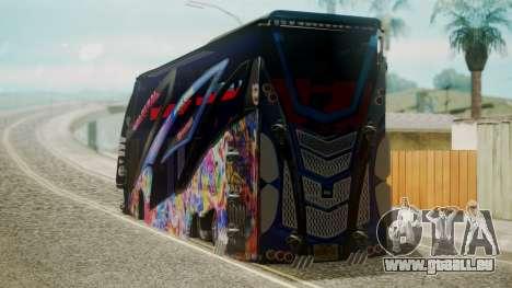 Bus in Thailand pour GTA San Andreas laissé vue