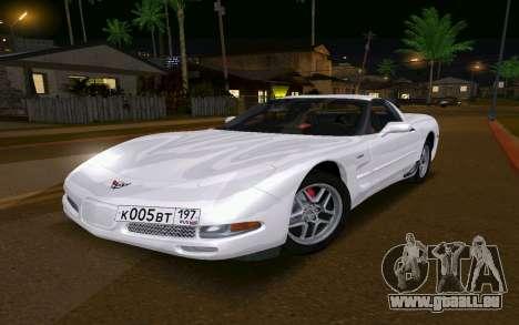 Chevrolet Corvette C5 2003 für GTA San Andreas