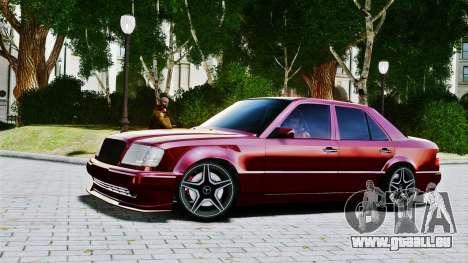 Mercedes-Benz E500 W124 pour GTA 4