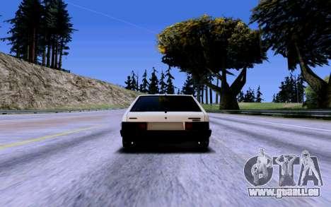 VAZ 2109 Turbo pour GTA San Andreas roue