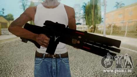 VXA-RG105 Railgun without Stripes pour GTA San Andreas troisième écran
