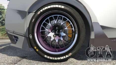 GTA 5 Nissan GT-R (R35) [RocketBunny] droite vue latérale