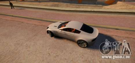 Aston Martin DB9 Vice City Deluxe pour GTA 4 est une gauche