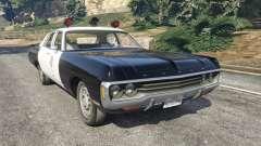 Dodge Polara 1971 Police v4.0