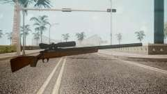 Low Poly Hunting Rifle pour GTA San Andreas