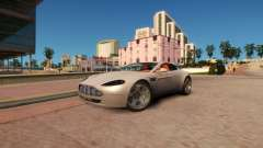 Aston Martin DB9 Vice City Deluxe für GTA 4