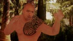 WWE 2K15 The Rock