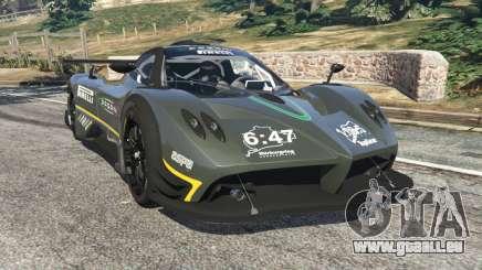 Pagani Zonda R 2009 v0.5 für GTA 5