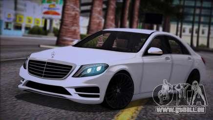 Mercedes-Benz S63 W222 Qualität Artikel für GTA San Andreas