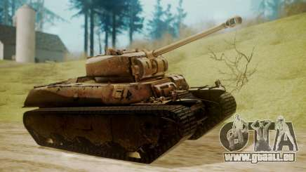 Heavy Tank M6 from WoT für GTA San Andreas