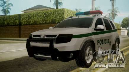 Renault Duster Patrulla Policia Colombiana pour GTA San Andreas