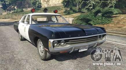 Dodge Polara 1971 Police v4.0 für GTA 5