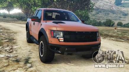 Ford F-150 SVT Raptor 2012 v2.0 pour GTA 5