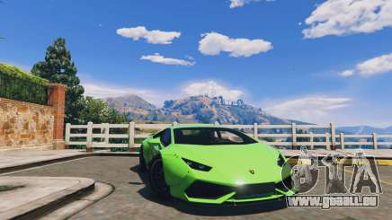LibertyWalk Lamborghini Huracan pour GTA 5