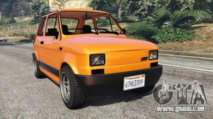 Fiat 126p v1.0 pour GTA 5