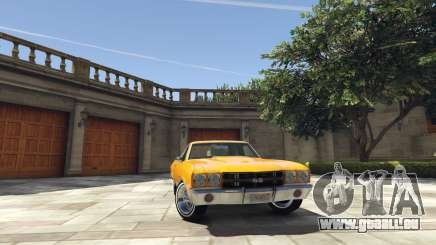 Chevrolet El Camino SS 1970 pour GTA 5