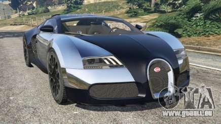 Bugatti Veyron Grand Sport v5.0 für GTA 5